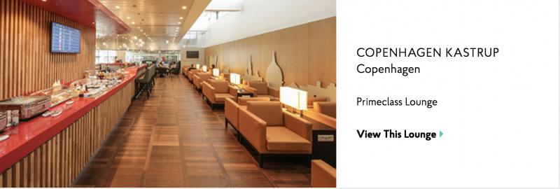 Copenhagen Priority Pass Lounge